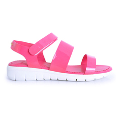Moncler Michele Women's Sandals Fuchsia