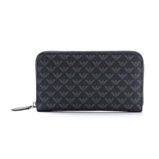 Emporio Armani Long Wallet Black/Grey